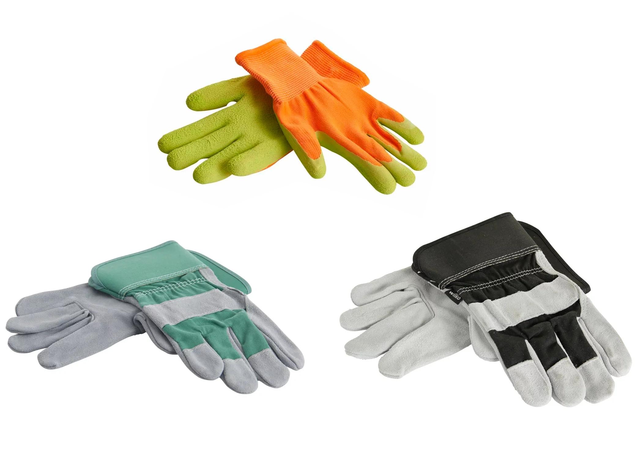 Kids Garden Gloves for 30p or Men's Leather Rigger Gloves for 85p @ Wilko (instore)