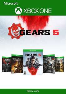[Xbox One] Gears 1 - 5 Bundle £32.99 @ CDKeys