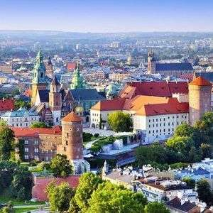 4 Night Trip to Krakow and Prague Including Flights, Hotel & Transfers / Departing London - £99pp (2 person min) £198 @ Groupon using code