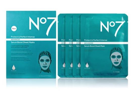 No7 Protect & Perfect Intense advanced Serum Boost Sheet Masks free via Boots app