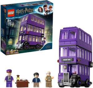 LEGO 75957 Harry Potter Knight Bus Toy, Triple-decker Collectible Set with Minifigures £28 @ Amazon