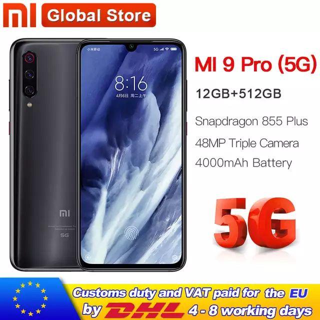 Mi 9 Pro 5G 12gb 512gb 4000mah £574.66 -  £22.23 postage AliExpress NL Mi Store