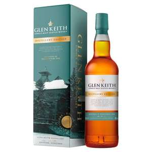 Glen Keith Distillery Edition Single Malt Whisky 70cl £20 @ Tesco