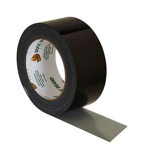 Duck Ultimate Cloth Tape, Black - 50mm x 25m, £3 at B&Q (free C&C)
