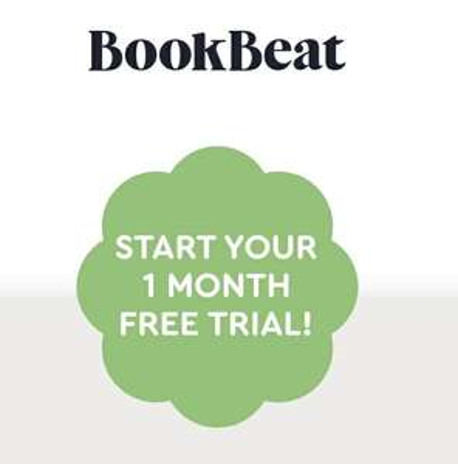 Bookbeat - One month free Audiobooks access