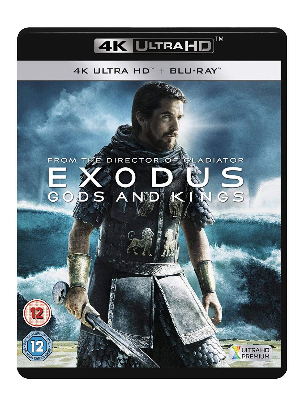 Exodus - Gods And Kings 4K UHD £5.49 (Prime) / £8.48 (non Prime) @ Amazon
