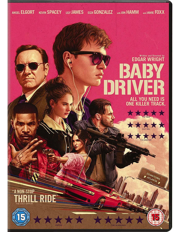 Baby Driver [Blu-ray] [2017] [Region Free] - £4.07 @ Amazon Prime (+£2.99 P&P non-Prime)