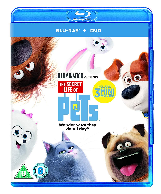 The Secret Life Of Pets (Blu-ray + DVD + Digital Download) [2015] - £3.45 @ Amazon Prime (+£2.99 P&P non-Prime)