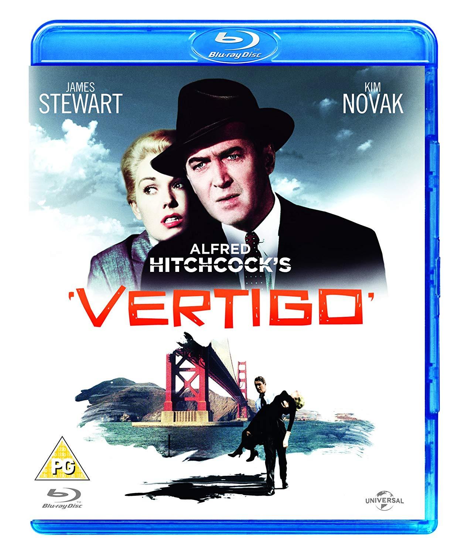 Vertigo [Blu-ray] [1958] [Region Free] - £2.99 @ Amazon Prime (+£2.99 P&P non-Prime)
