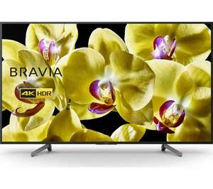"Sony Bravia KD65XG8096BU 65"" Smart 4K Ultra HD HDR LED TV with Google Assistant - £899 @ Currys on eBay"