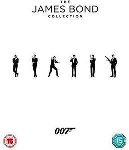 James Bond collection films 1-24 Blu Ray £38.94 @ Amazon