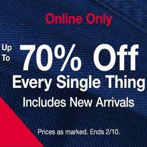 Gap sale upto 70% off everything online only
