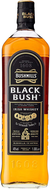 Bushmills Black Bush Irish Whiskey, 1 L £23.22 delivered @ Amazon