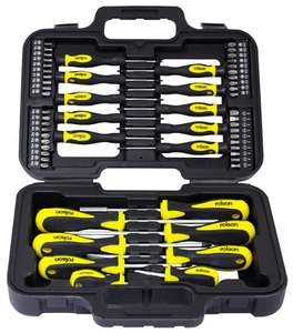 Rolson 58-Piece Screwdriver & Bit Set for £8.99 with code @ Robert Dyas (free click & collect)