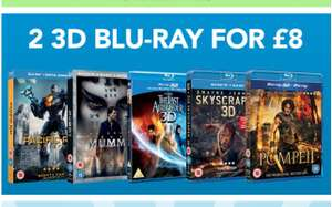 2 X 3D Bluray (44 Titles listed in the Description) for £8 Delivered @ Zoom