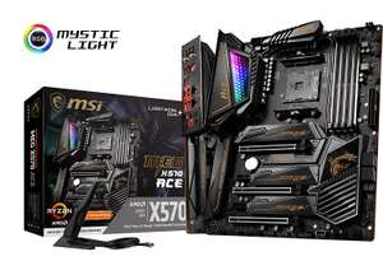 MSI MEG X570 ACE AMD AM4 DDR4 SLI/CF M.2 USB 3.2 Gen 2 Wi-Fi 6 ATX Gaming Motherboard - £328.38 @ Amazon