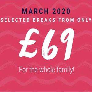 Haven holiday from £69 March 2020