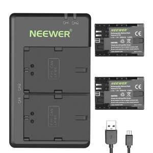 Neewer LP-E6 LP-E6N  Rechargeable Battery Charging Set for Canon Cameras £13.23  Sold by GrandTrading UK and Fulfilled by Amazon