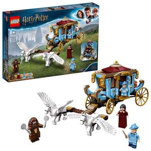 LEGO 75958 Harry Potter Beauxbatons' Carriage: Arrival at Hogwarts Set with 2 Horse Figures - £36 @ Amazon