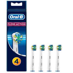 Oral-B Floss Action Replacement Toothbrush Heads (4 Pack) £7.75  (Prime) / £12.24 (non Prime) at Amazon