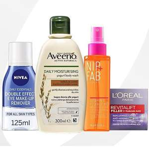 Save up to 1/2 price on over 500 Skincare items including YourGoodSkin, Soap & Glory, Botanics, L'oreal & more @ Boots