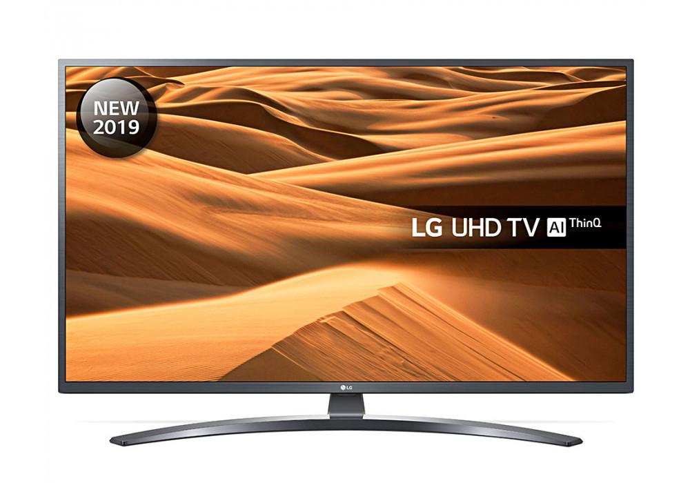 "LG 65UM7400PLB (2019) LED HDR 4K Ultra HD Smart TV, 65"" with Freeview Play/Freesat HD, Ultra HD, Dark Iron Grey £611.10 Crampton & Moore"
