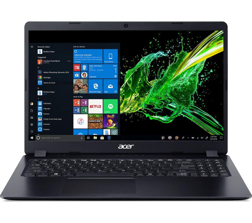"""Acer Aspire 5 A515-43 15.6"""" AMD Ryzen 5 Laptop - 256 GB SSD, Black £499 Currys"""