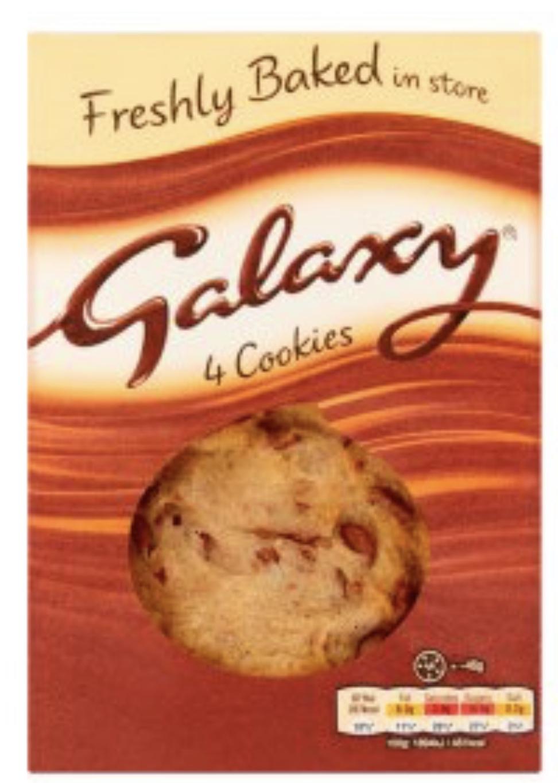 Mars or Cadbury Cookies 4 pack £1 at Morrisons instore