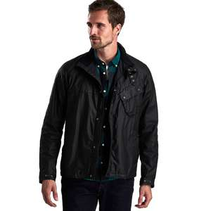 BARBOUR INTERNATIONAL BEECH WAX JACKET - £118.26 @ Country Attire