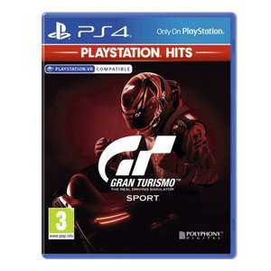 [PS4] Gran Turismo Sport - PlayStation Hits £13.95 delivered @ The Game Collection