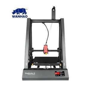 Wanhao Duplicator 9 Mk 2 3D Printer - Touchscreen / Auto Levelling + Free Support Ribs £299.99 + Free Next Day Delivery Available @ Box