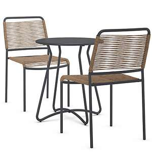 Lois  Bistro table and chairs £53.69 at M&S