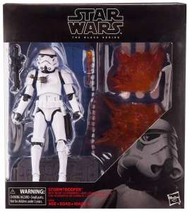 "6"" Black series Stormtrooper with blast effects  £9.99 @ The Entertainer"