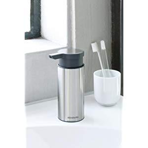 Brabantia Soap Dispenser - Matt Steel - £10 (Prime) £14.49 (Non Prime) @ Amazon