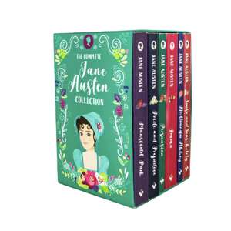 Jane Austen 6 Book Box Set Collection £12.48 Delivered @ Books2Door