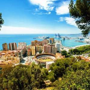 BA Direct Return Flights London to Malaga £48 - Bordeaux £46 - Luxembourg £53 - Nice £59 via Flight Scout