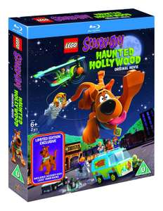 LEGO Scooby-Doo!: Haunted Hollywood (Includes Limited Edition LEGO Minifigure)[Blu-ray] [2016] [Region Free] only £5.66 (Prime) £8.65 (NP)