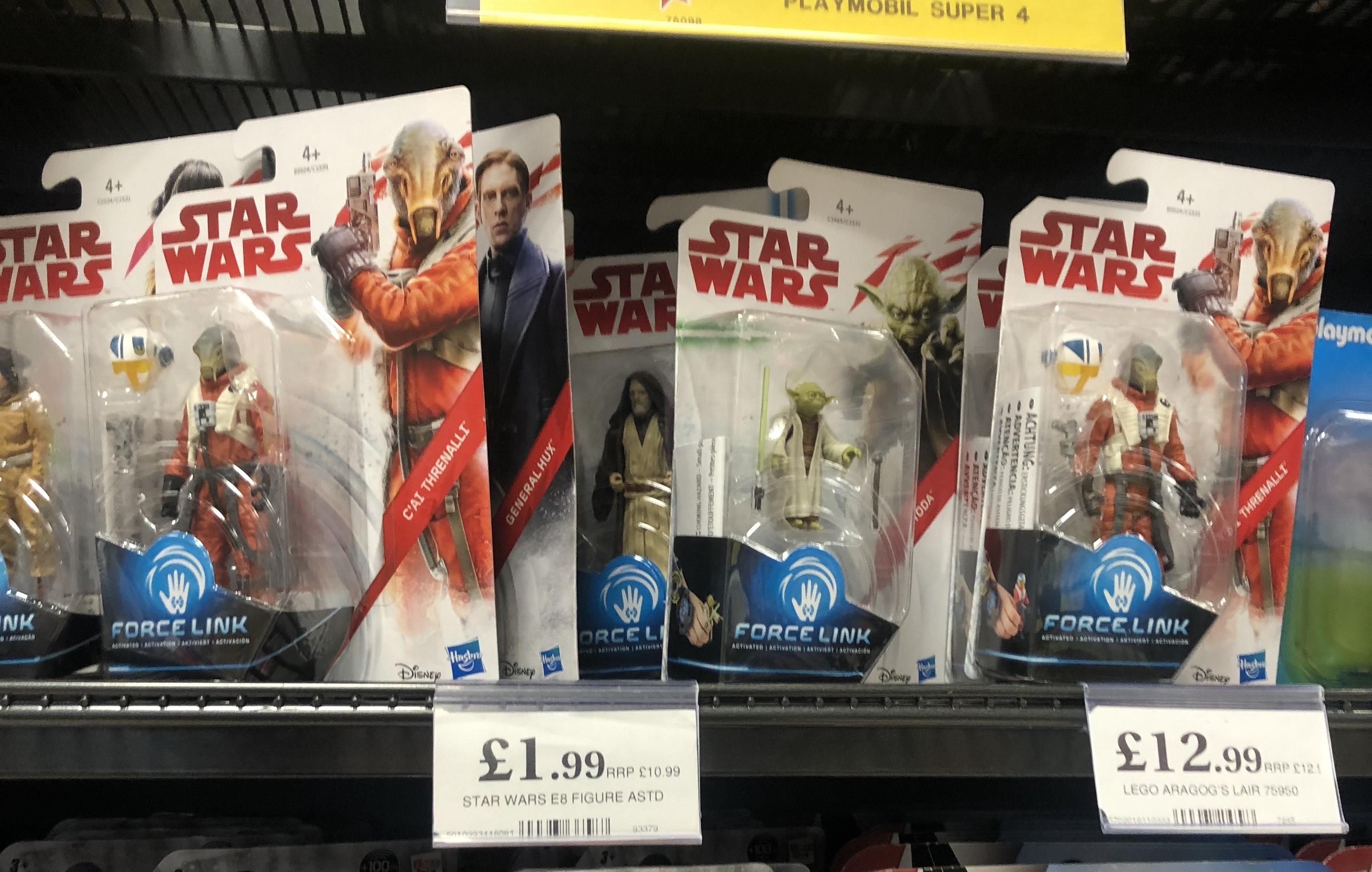 Star Wars Force Link 2018 Action figures - Home Bargains instore