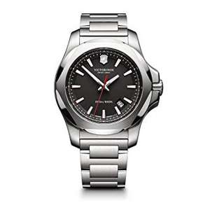 Victorinox Swiss Army I.N.O.X. Watch steel black dial £295.34 + £5.16 UK Delivery at Amazon