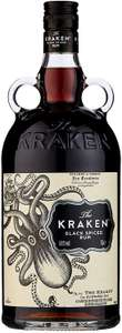 Kraken Black Spiced Rum, 1 L £26 @ Amazon