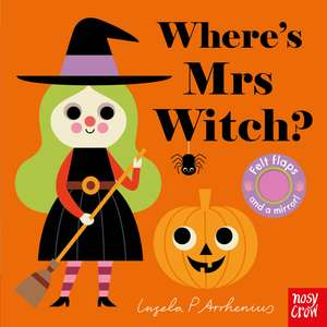 Where is Mrs Witch? book Includes Felt Flaps and Mirror!!! - £3.99 @ Sainsbury's