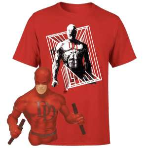 Daredevil Bust And T-Shirt Bundle Pre-Order £12.99 + Free Delivery with code @ Zavvi