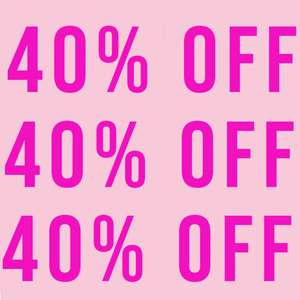 40% off Everything @ In The Style