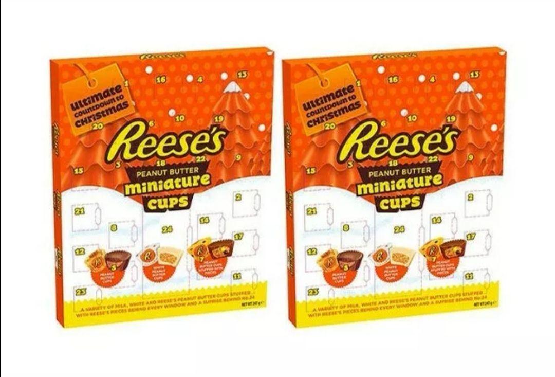 Reece's Peanut Butter Miniature Cups Advent Calendar £4.59 instore @ Home Bargains