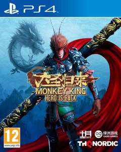 The Monkey King Hero is Back PS4 (Preorder) £26.95 delivered @ The Game Collection