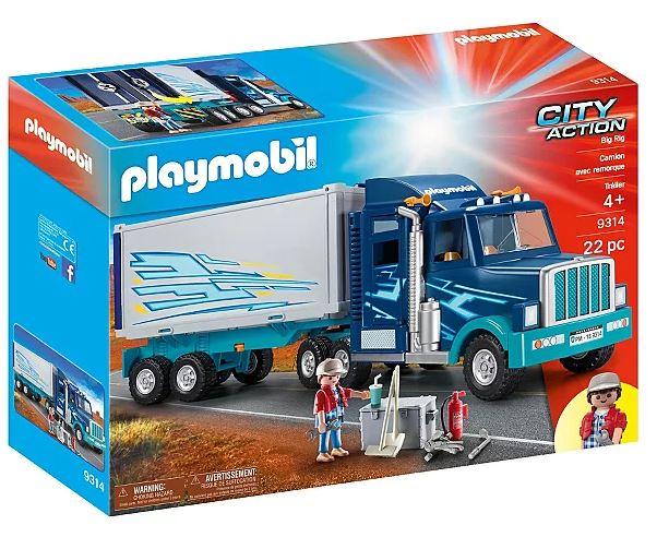Playmobil 9314 City Action Big Rig lorry - £27 at George (Asda George) free C&C