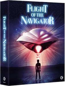 Flight of the Navigator Limited Edition Blu-Ray £15 Amazon Prime / £17.99 Non-Prime