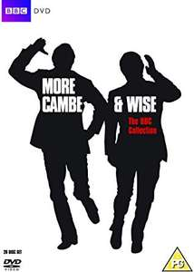 Morecambe & Wise: Complete BBC Collection DVD £19.80 + £2.99 delivery Non Prime Sold by Venture Online & Fulfilled by Amazon.