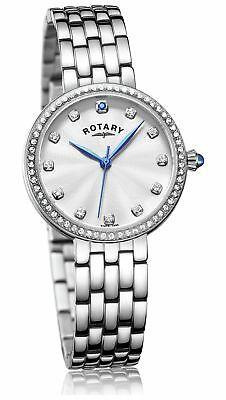 Rotary Ladies' Semi Precious Stone Set Stainless Steel Bracelet Analogue Watch £24.99 (Gold £22.99) @ Argos Ebay
