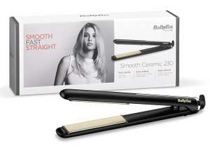BaByliss 230 Smooth Ceramic Hair Straighteners for £10 (Click & Collect £2) @ Wilko